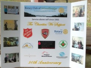 Exhibit of our Club's 50th Anniversary